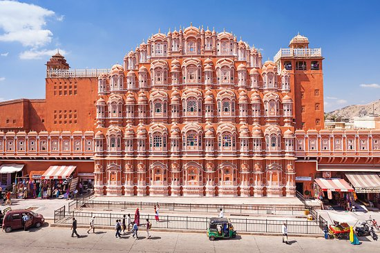Agate Travel: Palace of the Winds (Hawa Mahal)