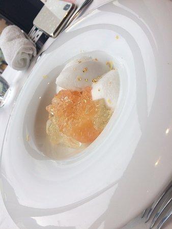 Bistro Marx: ロケーションも料理も最高でしたが、一番びっくりしたのは、デザートのアイスでした。