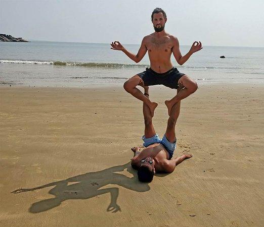 More acro practice