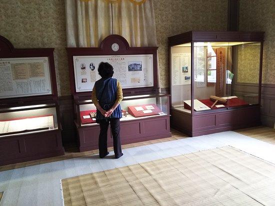 館内の展示物