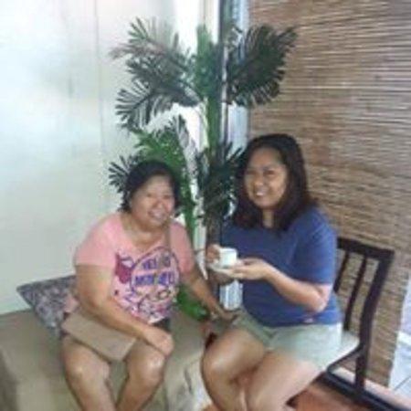 Our dear clients enjoying  their favorite tea