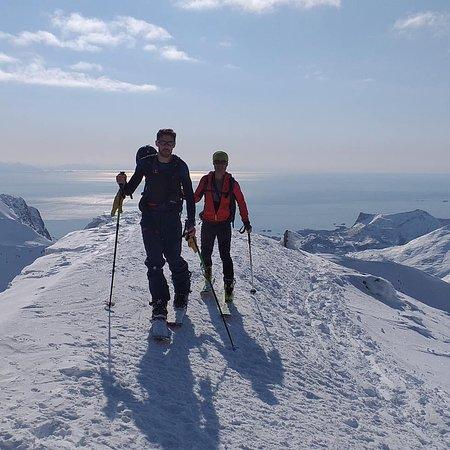 Randonnée à ski ,raid en Norvège