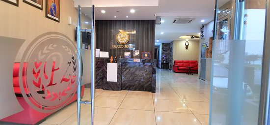 HOTEL ENTRANCE AND RECEPTION