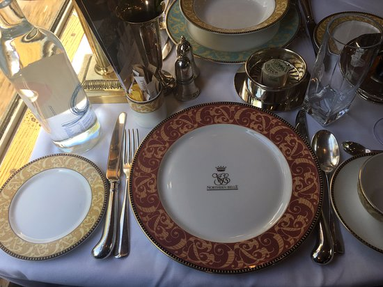 Table set for royalty :-)