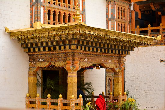 Punakha Dzong: Priest Quarters