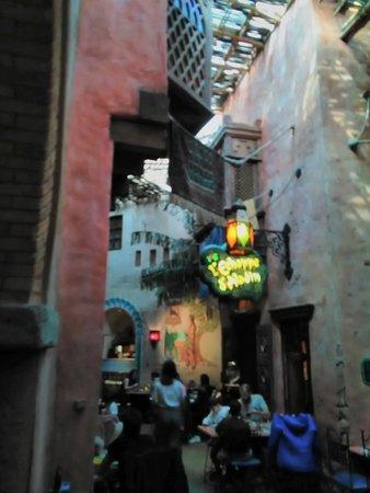 Restaurant Agrabah Café: on se croirait au souk 