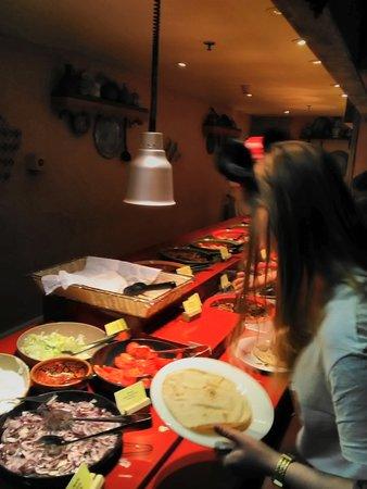 Restaurant Agrabah Café: à volonté