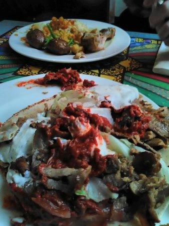 Restaurant Agrabah Café: kebab 