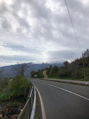 På vej op til Etna
