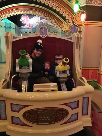 Toy story mania fun.