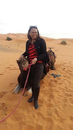 a caminho do acampamento no deserto pura emoção