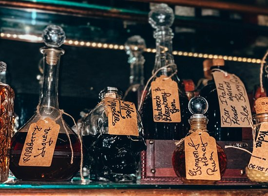House infused spirits created exclusively by Bar Italia, for Bar Italia