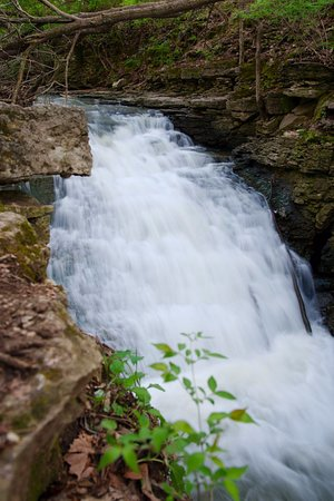Water falls, you can hang out next to the falls and then let other enjoy :)