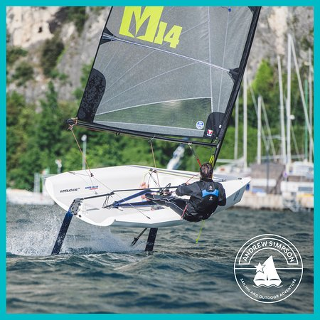 Melges 14 with foiling kit