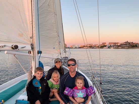 Fair Winds Sailing sunset cruise in Destin!
