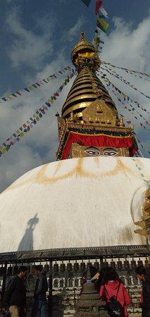 Swoyambhu stupa..