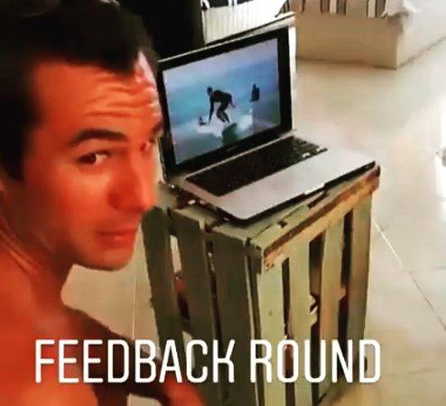 Barrel Flavor surf & fun: feedback session with our coach Nabil