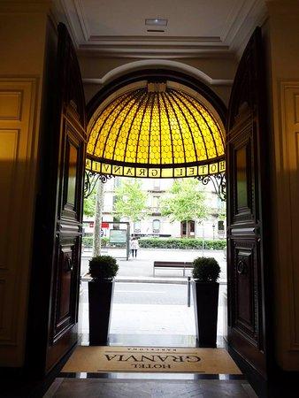 Hotel Granvia: Entrance