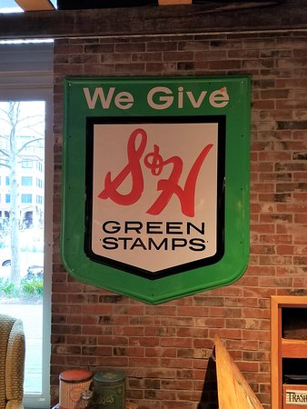 S&H Green Stamps... Orig Signage