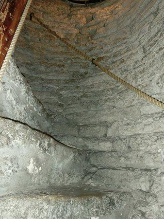 St. Olaf's Church: Trappan upp till utsiktsplatsen.