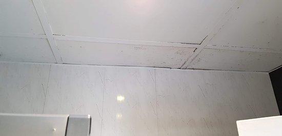 More mould in bathroom