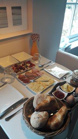 Heel erg lekker en uitgebreid ontbijt