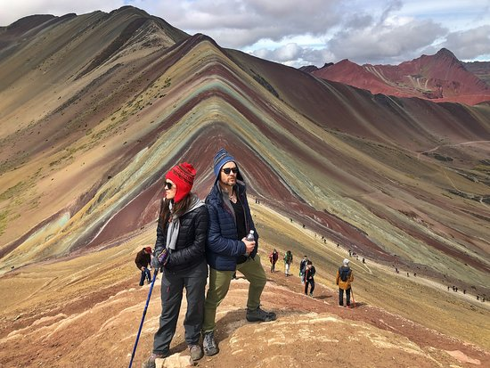 Rainbow Mountain Full-Day Tour from Cusco with Small Group Εικόνα