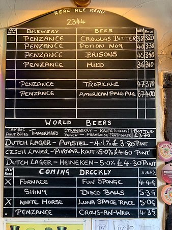The beer board