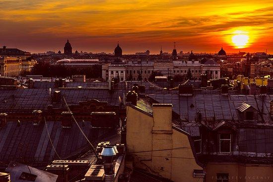 Крыши Санкт Петербурга