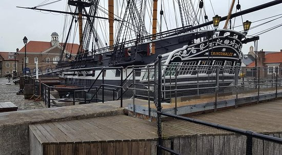 The National Museum of the Royal Navy Hartlepool Entrance Ticket: Oldest warship