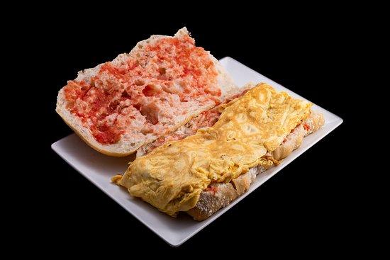 Spanish Tortilla Sandwich