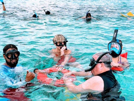 Family Snorkelling Fun!