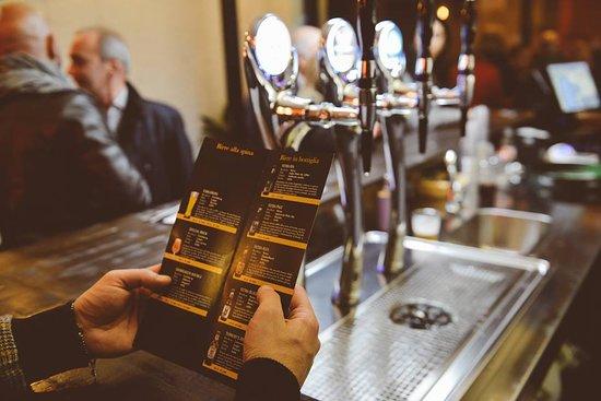 selezione di birre in bottiglia da birrifici italiani ed internazionali