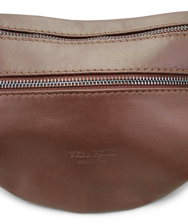 Genuine Sauvage Leather Fanny pack/crossbody bag - Made in Florence (Italy)