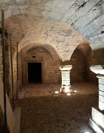 The 12th century cellar