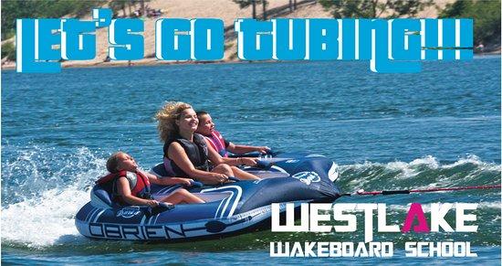 Westlake Wakeboard School: TUBING AND BANANA BOAT RIDES