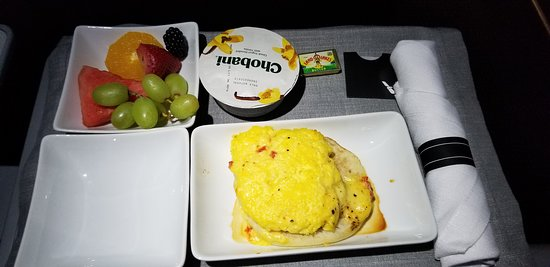 American Airlines: Breakfast, quite tasty