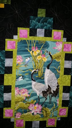 A beautiful modern quilt