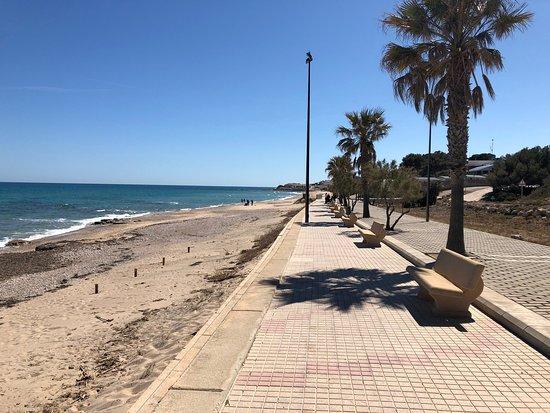 L'Almadrava, España: Beautiful empty beach