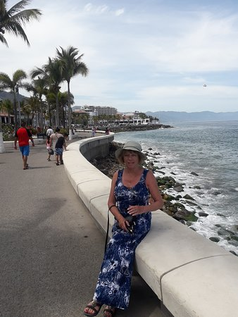 You have to visit the Malecon. many shops and restaurants. pretty area.