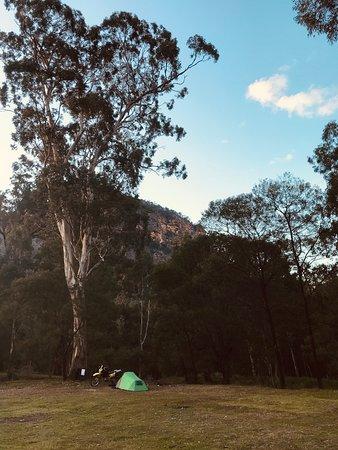 Motorbike camping