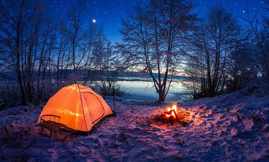 Malta, OH: Picture perfect camping!