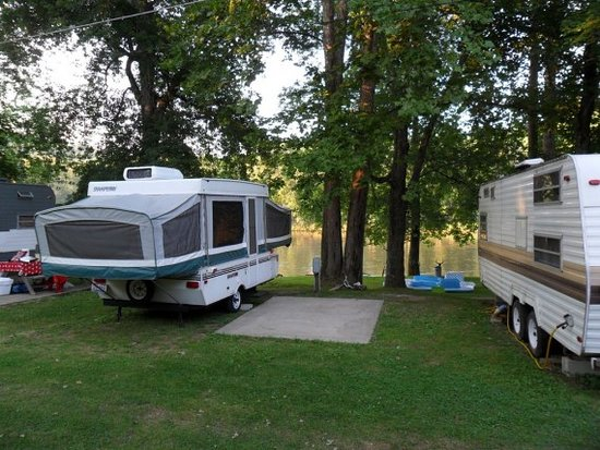 Malta, OH: Camping on the river