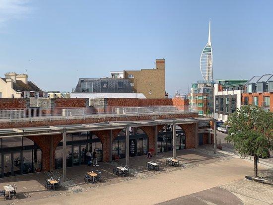 Portsmouth, UK: The Distant Spinnaker