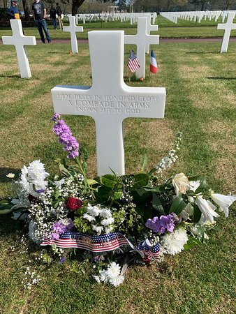 Normandy Excursions: American cemetery and mont saint MICKAEL