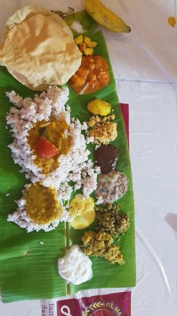 The best Sadya meal in town