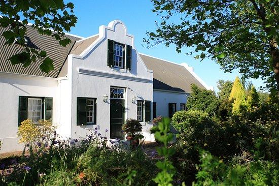 Vlottenburg, South Africa: main entrance for house