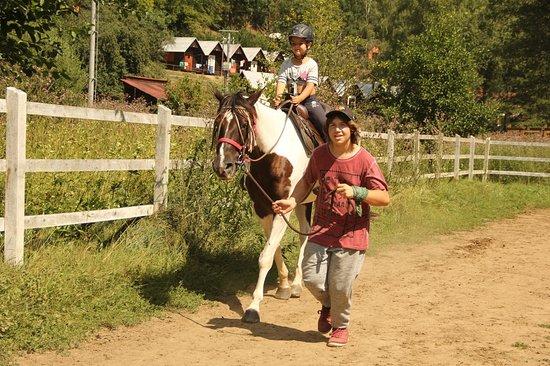 jízda na koni na Ranči v údolí