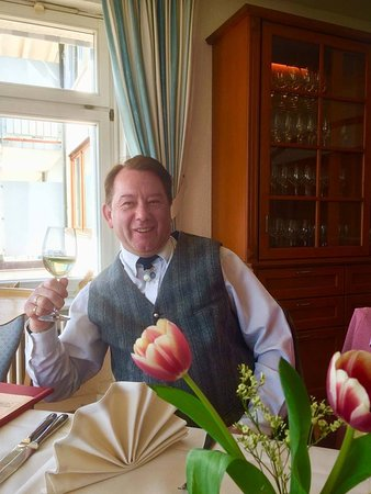 Saig, เยอรมนี: a pre lunch aperitif for my birthday