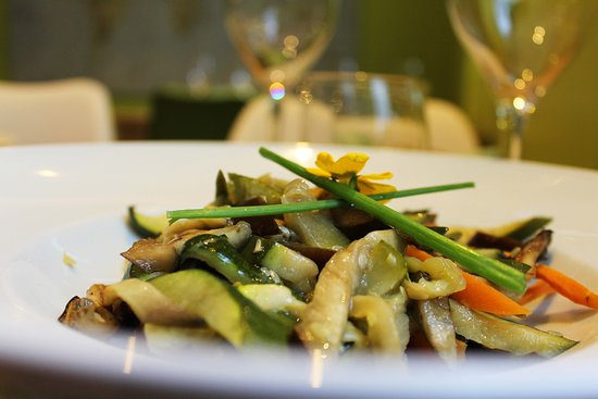 La Chamartina: Verduras asadas